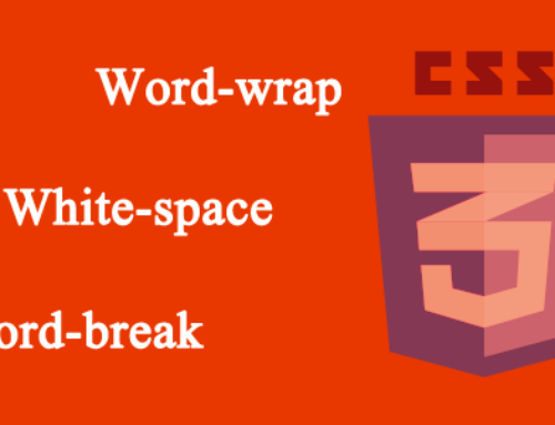 CSS Word Wrap