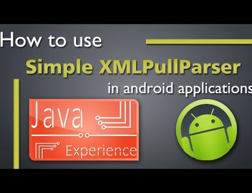 Android XMLPullParser Tutorial